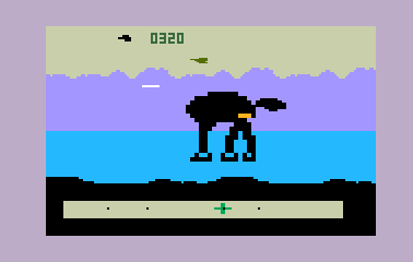 Intellivision version of Star Wars: The Empire Strikes Back
