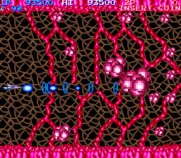 Arcade version of Life Force