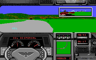 The driving action sequence (IBM EGA)