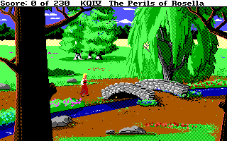 IBM EGA/VGA version of King's Quest IV