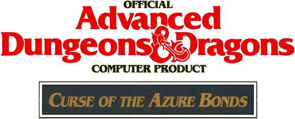 Curse of the Azure Bonds logo