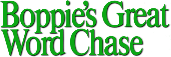 Boppie's Great Word Chase logo