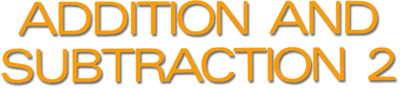 Addition and Subtraction 2 logo