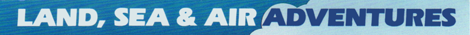 Land, Sea & Air Adventures logo