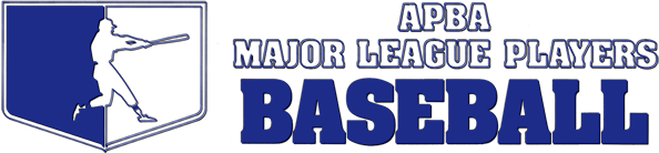APBA Major League Players Baseball logo