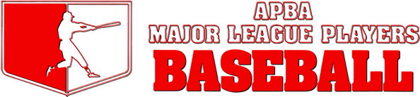 APBA Major League Players Baseball: 1987 Season - Official Records and Ratings logo