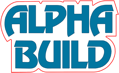 Alpha Build logo