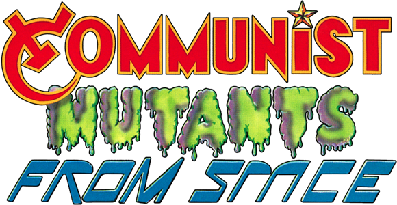 Communist Mutants from Space logo
