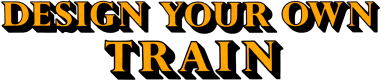 Design Your Own Train logo