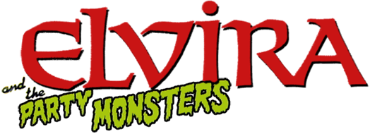 Elvira and the Party Monsters logo