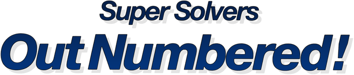 Super Solvers: OutNumbered! logo