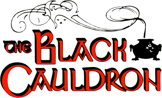 The Black Cauldron logo