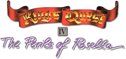 King's Quest IV: The Perils of Rosella logo