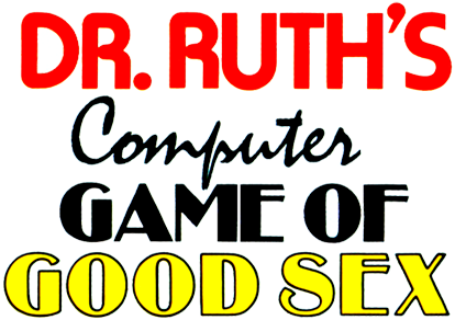 Dr. Ruth's Computer Game of Good Sex logo
