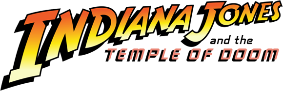 Indiana Jones and the Temple of Doom logo