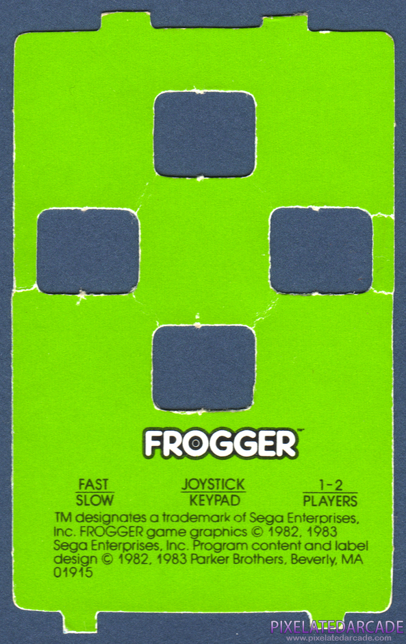 Frogger Package Contents: Controller overlay