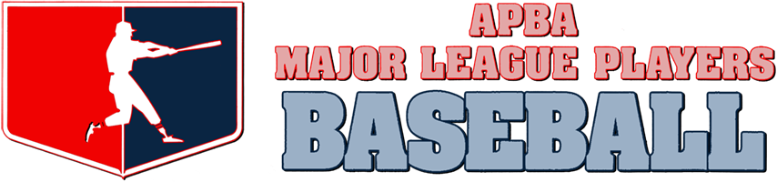 APBA Major League Players Baseball Series logo