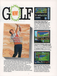 Jack Nicklaus' Unlimited Golf & Course Design in the Accolade 1990 product catalog