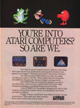 Parker Brothers 1984 magazine ad
