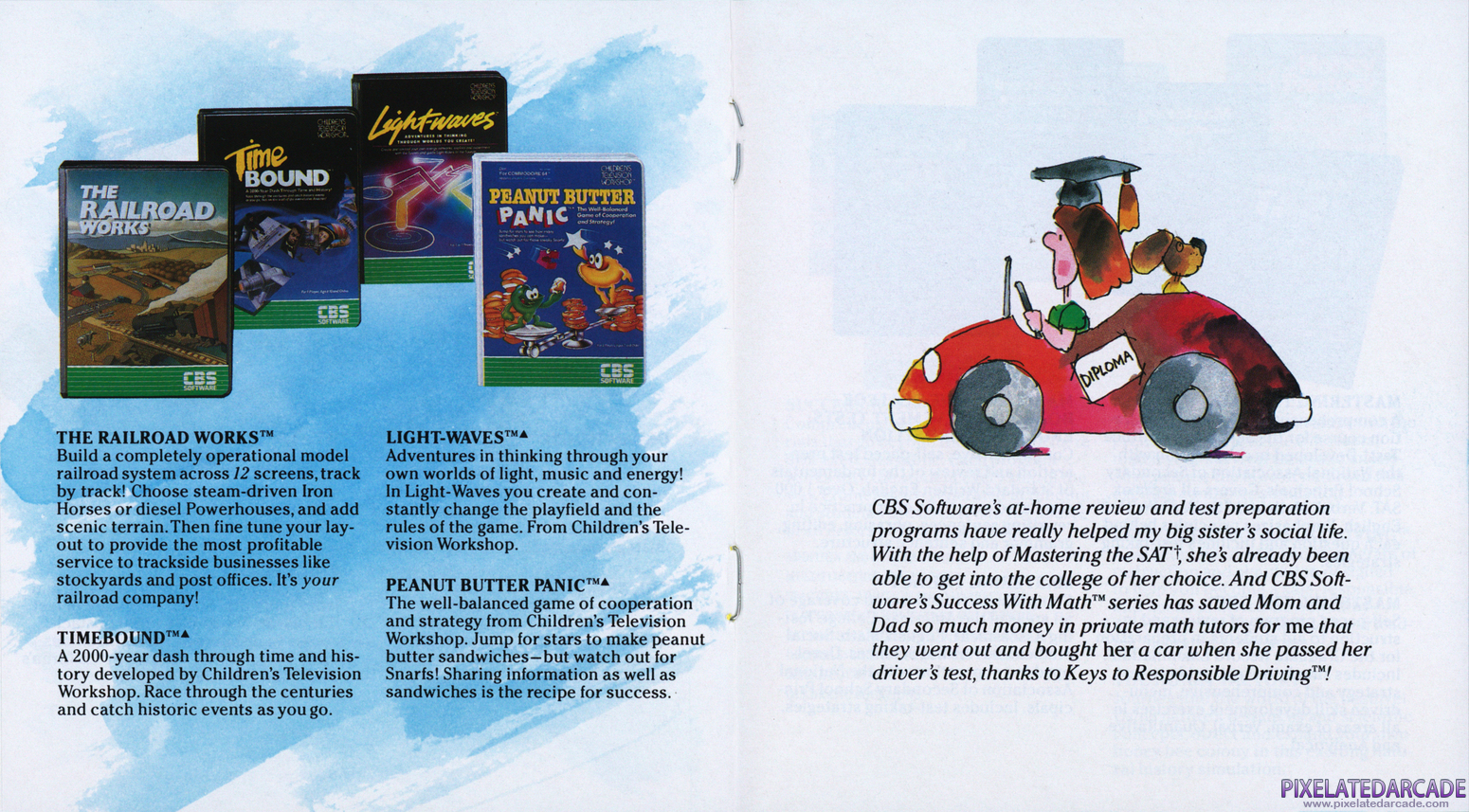 Timebound Advertisement: CBS Software product catalog
