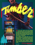 Timber arcade flyer - Front