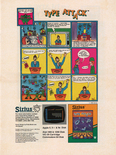 Sirius Software Summer 1983 product catalog