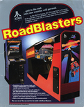 RoadBlasters flyer - Front
