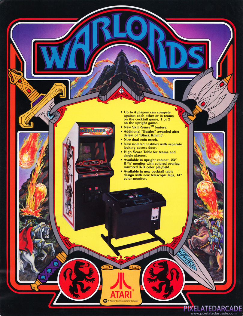 Warlords Advertisement: Warlords - Flyer Front