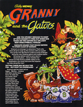 Granny and the Gators flyer - Front