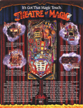 Theatre of Magic flyer - Back