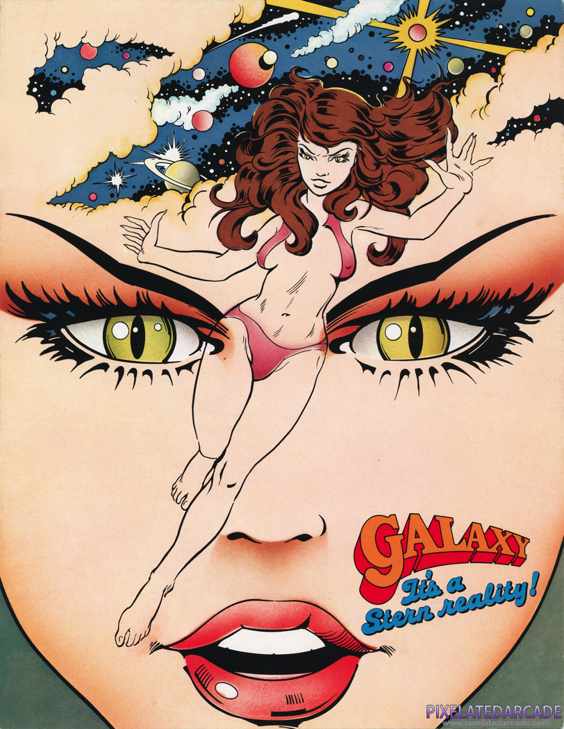 Galaxy Advertisement: Galaxy flyer - Front