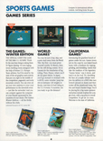 California Games in the Epyx product catalog