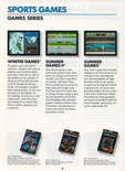 Summer Games II in the Epyx product catalog