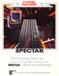 Spectar flyer - Front