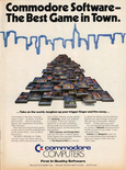 Commodore software - 1984 magazine ad