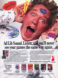 April 1991 magazine ad