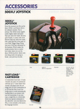500XJ joystick in Epyx product catalog