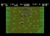 Ikari Warriors for Atari 7800 - Here come the first opponents...