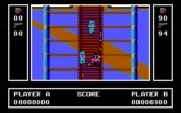 Ikari Warriors for IBM PC/Compatibles - This narrow bridge can be difficult to cross.
