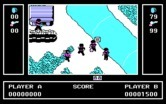 Ikari Warriors for IBM PC/Compatibles - This river can be difficult to cross.