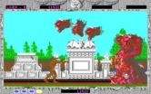 Altered Beast for IBM PC/Compatibles - Fighting the first end of level boss...