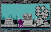 Altered Beast for IBM PC/Compatibles - The first end of level boss appears in a puff of smoke...