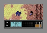 Bad Blood for Commodore 64 - Large, mutant creatures often attack.