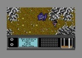 Bad Blood for Commodore 64 - As day changes to night the perils of exploring change as well.