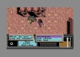 Bad Blood for Commodore 64 - The game starts here; you can chit chat with some other characters.