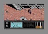 Bad Blood for Commodore 64 - Exploring a city.
