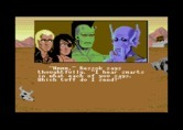 Bad Blood for Commodore 64 - Character selection.