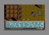 Bad Blood for Commodore 64 - Talking with characters can help you on your mission.