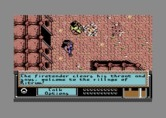Bad Blood for Commodore 64 - Welcome to a village!