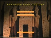 Advanced Civilization for IBM PC/Compatibles screenshot thumbnail - The main menu.